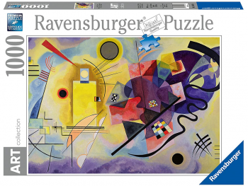 Sestavljanka Kandinsky: Yellow, Red, Blue 1000 delna