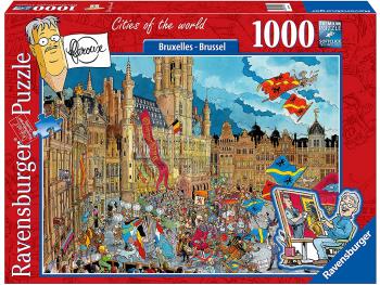 Sestavljanka Mesta sveta - Bruselj 1000 delna