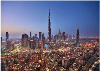 Ravensburger sestavljanka Dubai 1000d