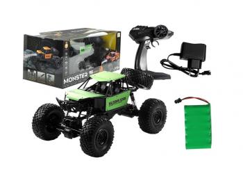 Avto na daljinsko vodenje Monster Truck Jeep 1:18