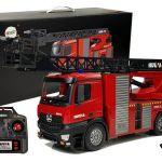RC Gasilski avtomobil Fire Brigade z lestvijo 1:14 Huina