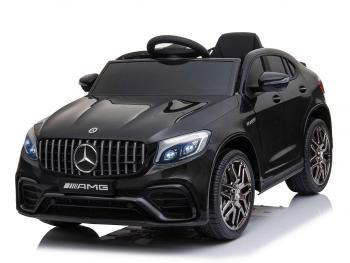 Avto na akumulator Mercedes AMG GLC63S - črn, enosed