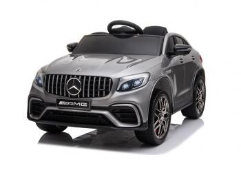 Avto na akumulator Mercedes AMG GLC63S - srebrn, enosed