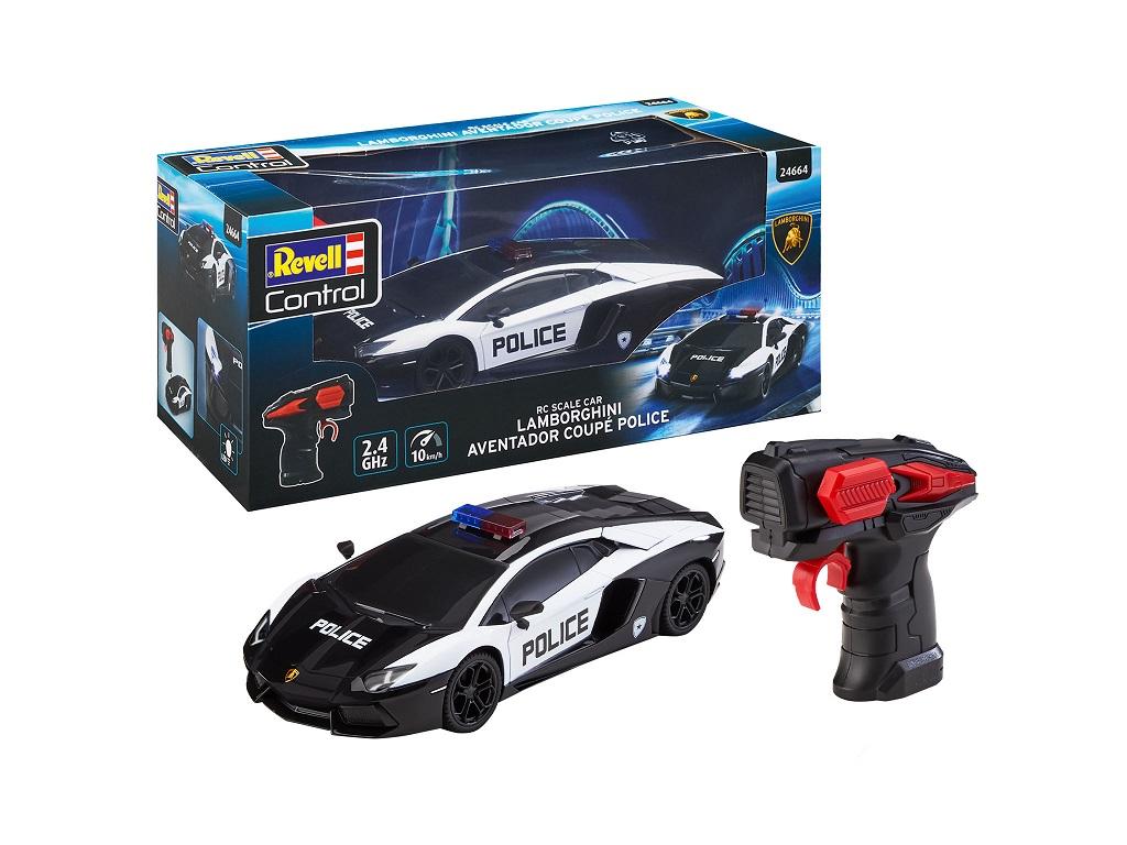 Avto na daljinsko vodenje Lamborghini policaj Revell