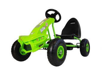 Gokart na pedala A-18 zelen