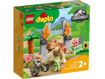 LEGO Duplo Pobeg tiranozavra in triceratopa 10939