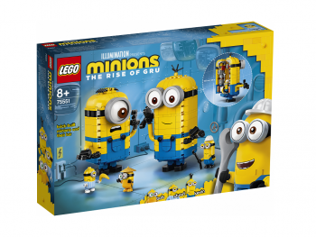 LEGO Minions Minioni in njihovo skrivališče 75551