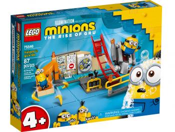 LEGO Minions Minioni v Grujevem laboratoriju 75546