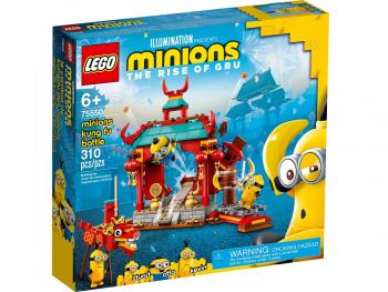 LEGO Minions Minioni v kungfujevskem spopadu 75550