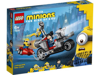 LEGO Minions Neustavljiv lov z motorjem 75549