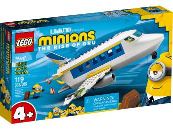 LEGO Minions Urjenje minionskega pilota 75547