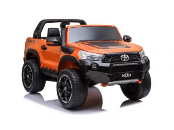 Otroški avto na akumulator Toyota Hilux 180W 4x4 oranžna