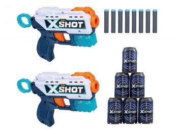 XShot pištola 2x Kickback set