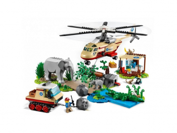 LEGO City Reševanje divjih živali