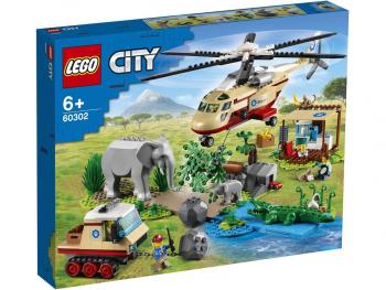 LEGO City Reševanje divjih živali 60302