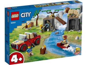 LEGO City Terenski avto za reševanje divjih živali 60301