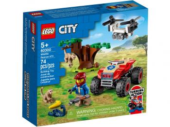 LEGO City Terenski štirikolesnik za reševanje v divjini 60300