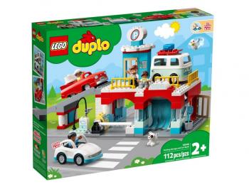 LEGO Duplo Parkirna hiša in avtopralnica 10948