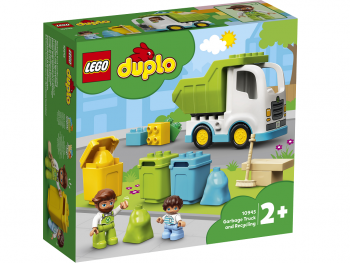 LEGO Duplo Smetarsko vozilo in recikliranje 10945