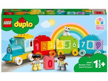LEGO Duplo Številski vlak - učimo se šteti 10954