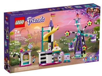 LEGO Friends Čarovniško veliko kolo in tobogan 41689