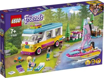 LEGO Friends Gozdni bivalnik in jadrnica 41681