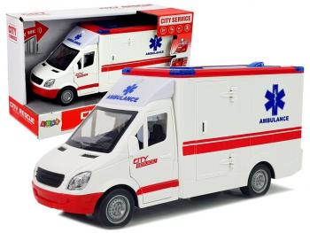 Reševalno vozilo na frikcijski pogon