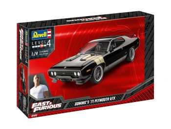 Revell Fast & Furious Dominics 1971 Plymouth GTX 07692