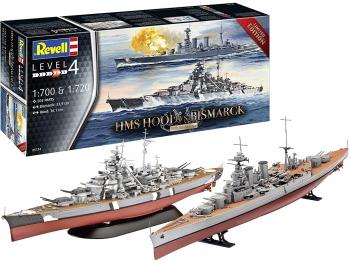 Revell HMS Hood vs. Bismarck 80th Anniversary 05174