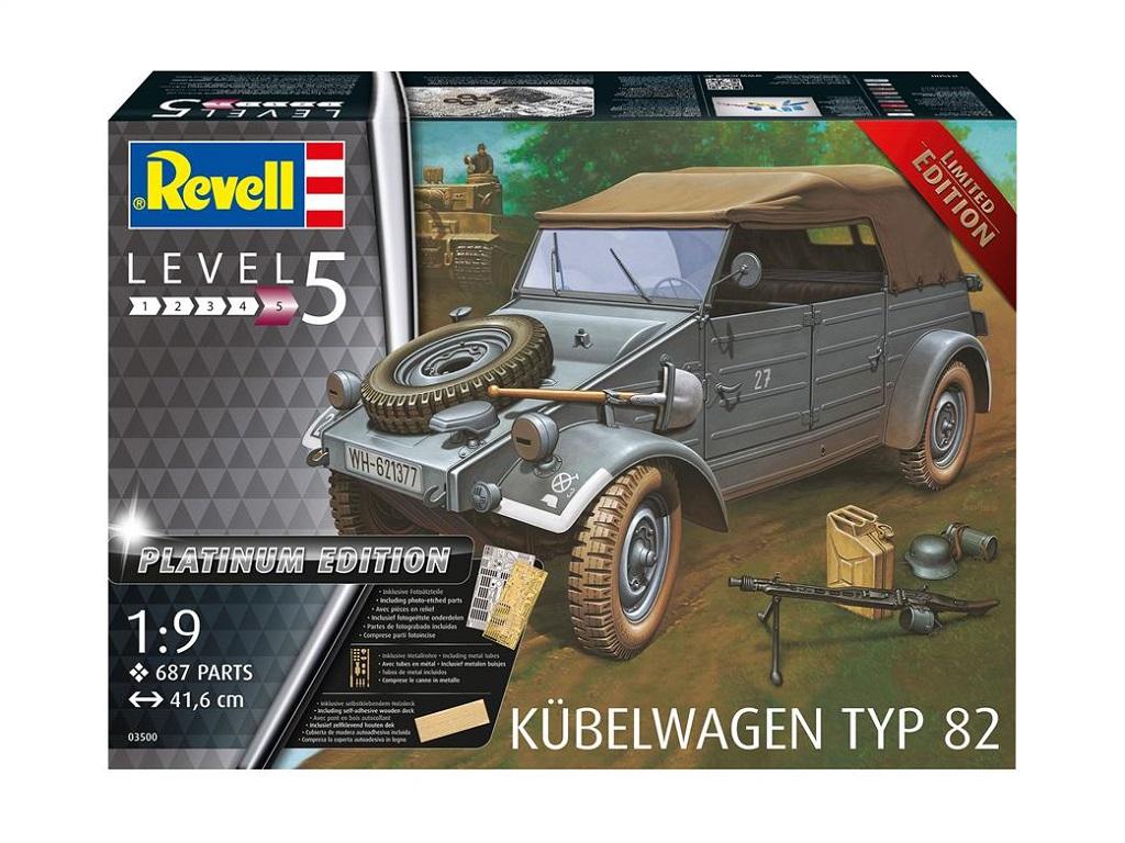 Revell Kubelwagen Typ 82 Platinium Edition 03500