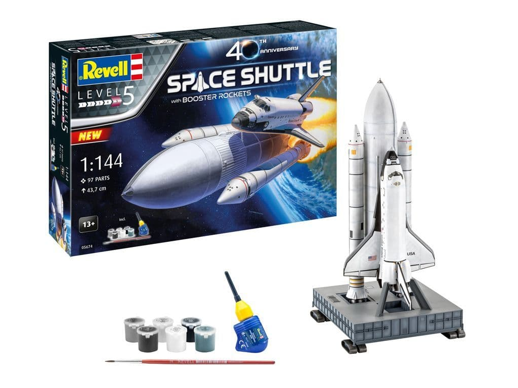 Revell Space Shuttle & Booster Rockets 05674