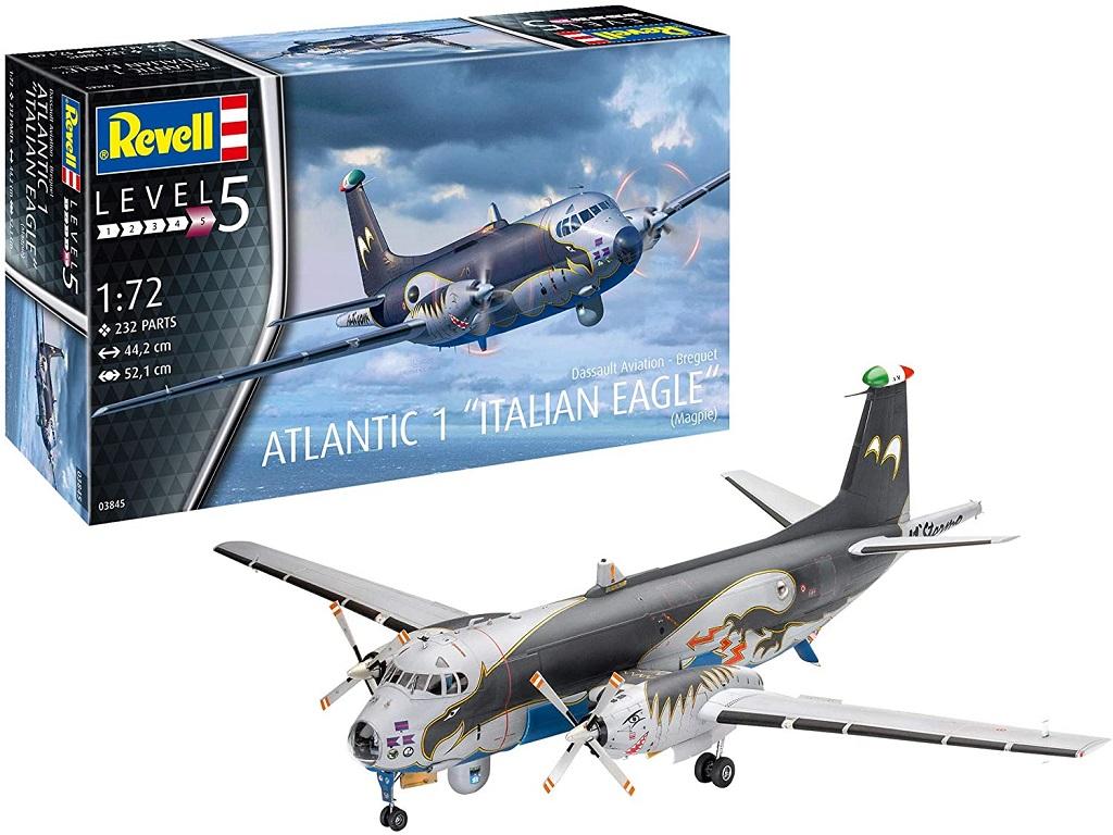 Revell maketa Breguet Atlantic 1 Italian Eagle 03845