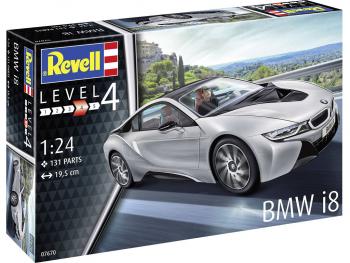 Revell maketa avtomobila BMW i8 07670