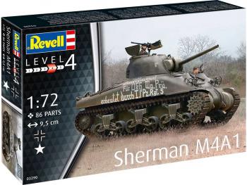 Revell maketa tanka Sherman M4A1 03290