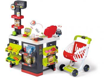 Smoby Supermarket z nakupovalnim vozičkom