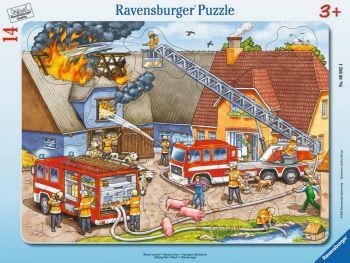 Sestavljanka gasilci gasijo 14 delne