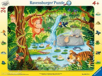 Sestavljanka v džungli 24 delne