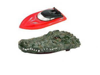 Croco Racer čoln 2v1 2.4GHz rdeč