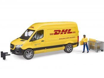 Bruder DHL vozilo s figuro