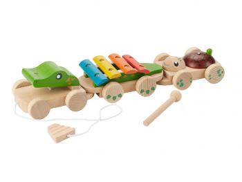 EverEarth Leseni glasbeni krokodil