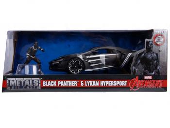 Kovinski avtomobil Marvel Avengers Black Panther
