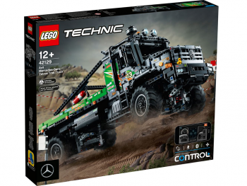 LEGO Tekmovalni tovornjak 4x4 Mercedes-Benz Zetros 42129