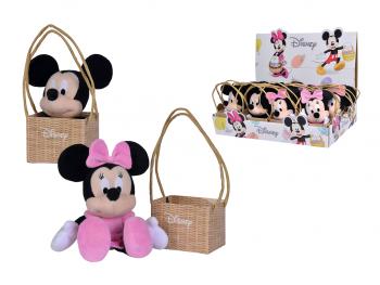 Plišasta igrača Mickey in Minnie miška 20cm