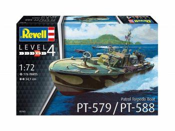 Revell PT-579 Torpedo Boat 05165