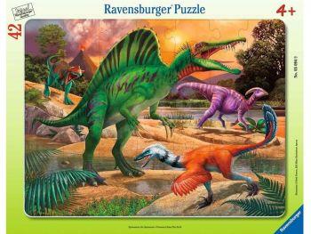 Sestavljanka dinozavri 42 delne