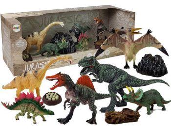 Dinozavri Set figuric 7 kosov z dodatki