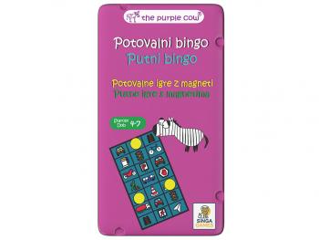 Družabna igra Potovalni bingo