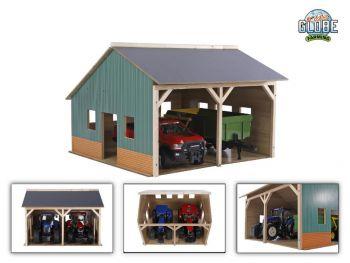Igrača Lesena garaža 1:16 Globe 610338