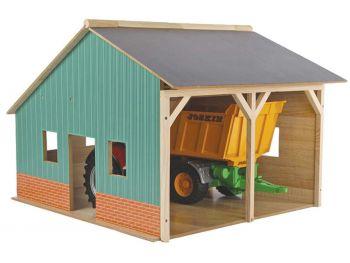 lesena garaža igrača
