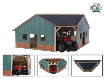 Igrača Lesena garaža 1:16 Globe 610339